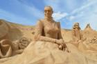Международный фестиваль песчаных скульптур FIESA в Алгарве, Португалия